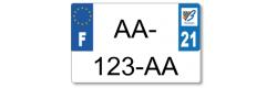 Plaque standard PLEXIGLAS® 210x130 mm