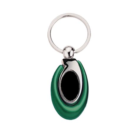 Porte clés vert