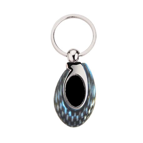 Porte clés carbonne