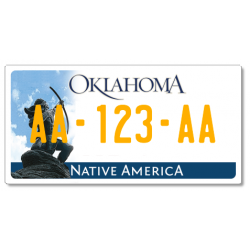 Plaque US PLEXIGLAS® 300x150mm - Oklahoma