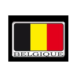 Sticker Belgique
