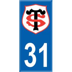 Sticker Département 31