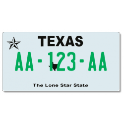 Plaque US PLEXIGLAS® 300x150mm - Texas